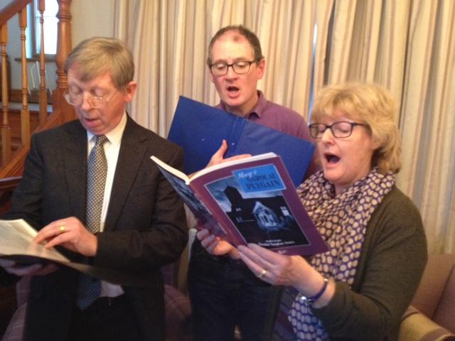 David, Bill a Helen
